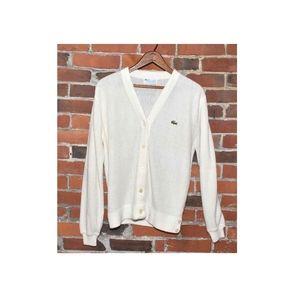 Vintage Lacoste Cardigan Sweater S/M*